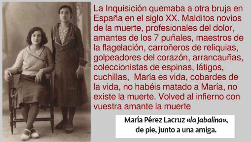 María Pérez LaCruz jabalina word press